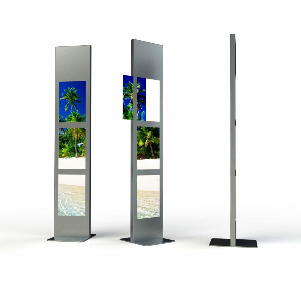 Display + Design LED Stele