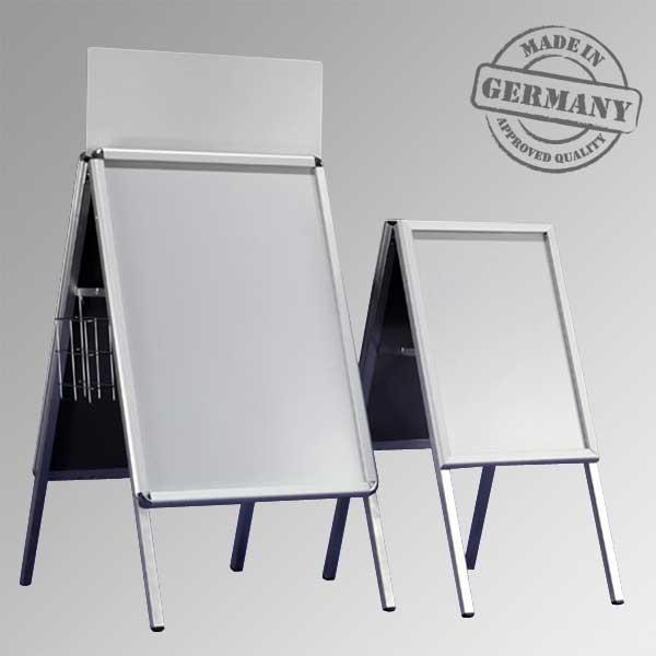 Display + Design Aluminiumdisplays als Plakatständer