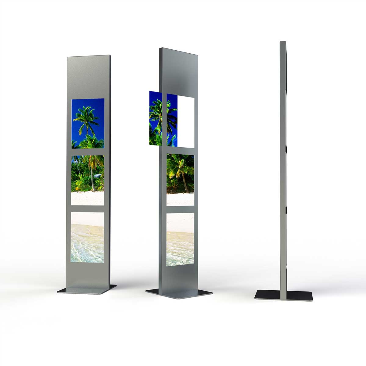 Display + Design LED Stele als Sonderbau für TUI